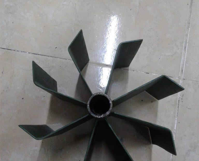 Perancangan Turbin Air Sederhana
